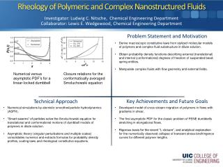 Rheology  of Polymeric and Complex  Nanostructured  Fluids
