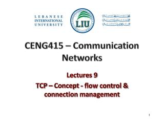 CENG415  �  Communication Networks