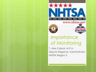 Importance of Monitoring