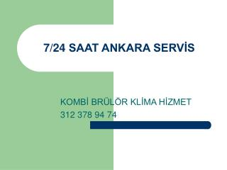 ETLİK demirdöküm servisi. 312 378 94 74 demirdöküm kombi