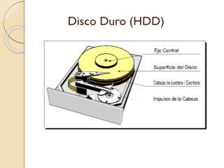 Disco Duro (HDD)