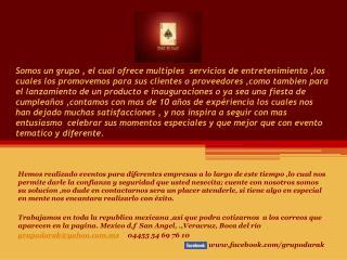 nosotros web