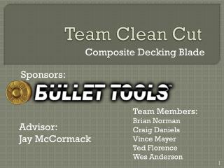 Team Clean Cut