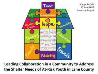 Leading Collaboration in a Community to Address the Shelter Needs of At-Risk Youth in Lane County