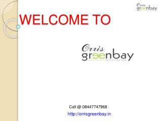 Greenbay Golf Village site plan Noida