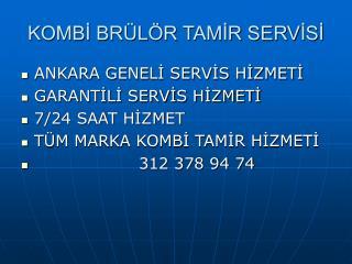 312 378 94 74 öveçler vaillant servisi * vaillant kombi