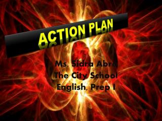 Ms. Sidra Abro The City School English, Prep I