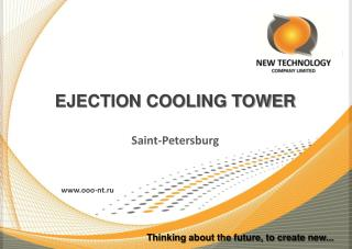 EJECTION COOLING TOWER Saint-Petersburg