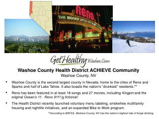 Washoe County Health District ACHIEVE Community Washoe County, NV