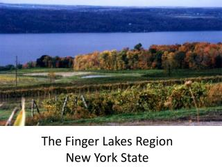 The Finger Lakes Region  New York State