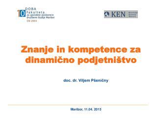 Znanje in kompetence za dinamično podjetništvo