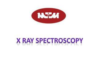 X RAY SPECTROSCOPY
