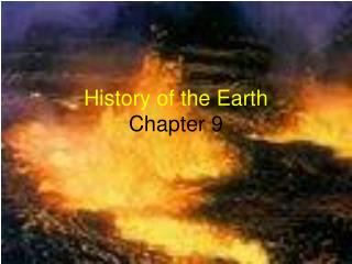 History of the Earth Chapter 9