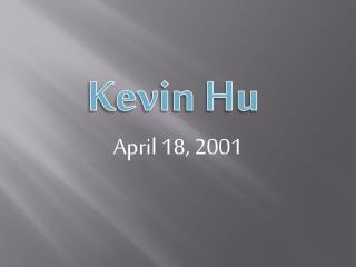 April 18, 2001