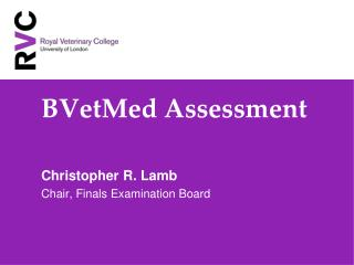 BVetMed Assessment