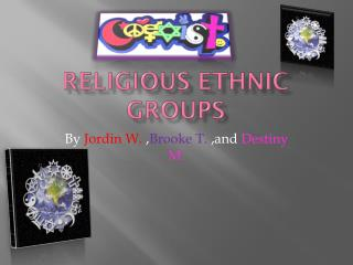 Religious Ethnic Groups
