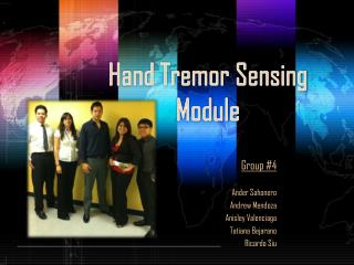 Hand Tremor Sensing Module