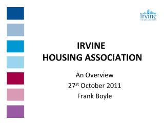 IRVINE  HOUSING ASSOCIATION