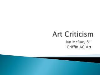 Art Criticism