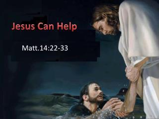 Matt.14:22-33