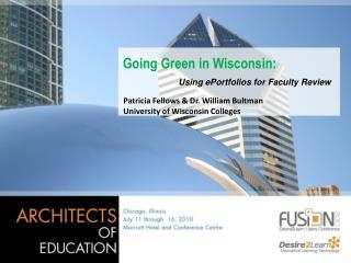 Going Green in Wisconsin: