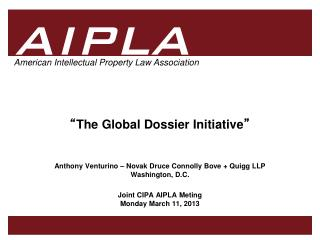 """ The Global Dossier Initiative """