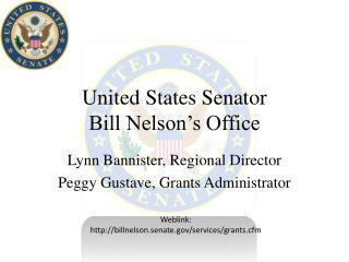 United States Senator  Bill Nelson's Office