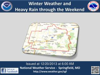 Winter Weather and  Heavy Rain through the Weekend