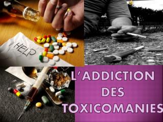 L'addiction Des  Toxicomanies