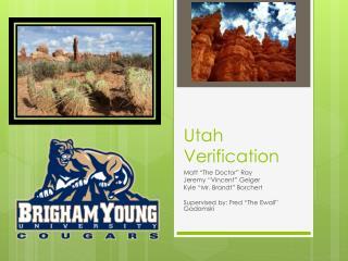 Utah Verification