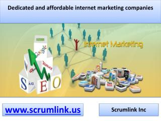 Internet marketing companies USA