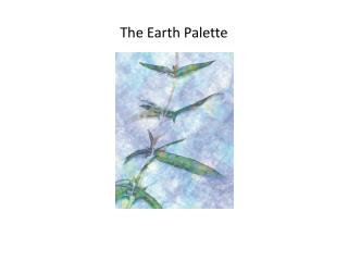 The Earth Palette