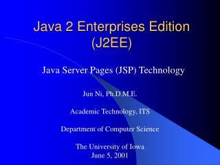 J2EEJSPpresentation