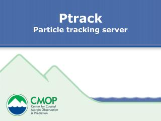 Ptrack Particle tracking server