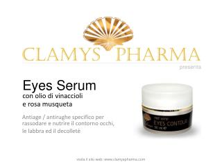 Eyes Serum CLAMYS PHARMA: Antiage specifico per contorno occ