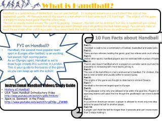What is Handball?