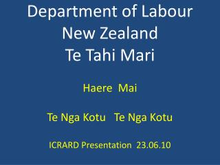 Te Tahi Mari 4,000,000 People 70,000,000  Sheep