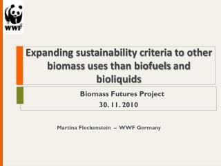 Martina Fleckenstein  �  WWF Germany