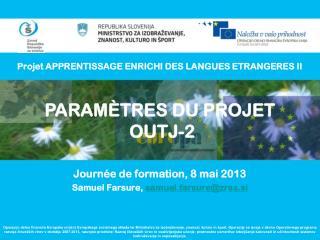Projet APPRENTISSAGE ENRICHI DES LANGUES ETRANGERES II