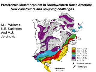 Proterozoic Metamorphism in Southwestern North America: