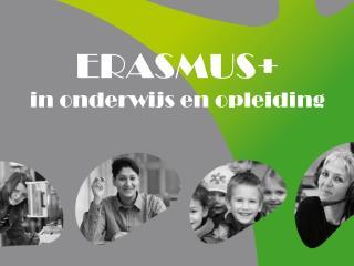 ERASMUS+ in onderwijs en opleiding