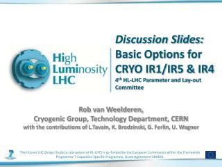 Rob van Weelderen,  Cryogenic Group, Technology Department, CERN