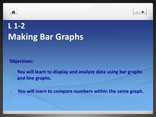 L  1-2 Making Bar Graphs