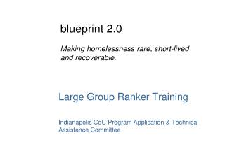 Large Group Ranker Training