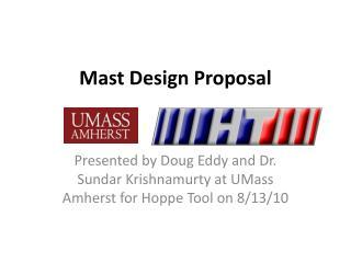 Mast Design Proposal