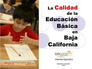 La Calidad de la Educaci