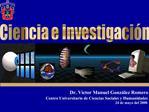 Ciencia e Investigaci n