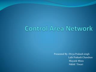 Control Area Network