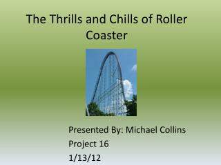 The Thrills and Chills of Roller Coaster