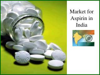 Market for Aspirin in India